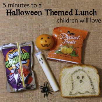 5 Minute Halloween Themed Lunch
