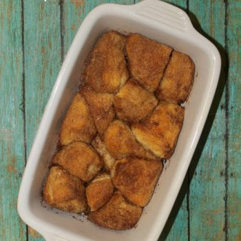 Start The Day With Cinnamon Sugar Pull Apart Biscuits