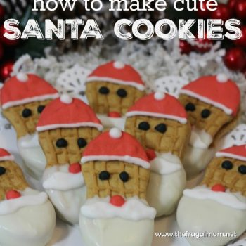 Make Santa Cookies For Christmas Cheer