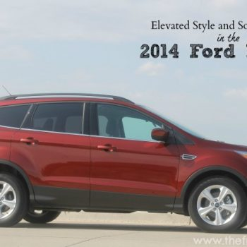 Find Elevated Style and Sophistication in the 2014 Ford Escape