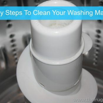4 Easy Steps to Clean Your Washing Machine #DIY