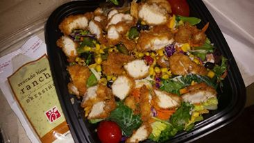 chickfila salad container