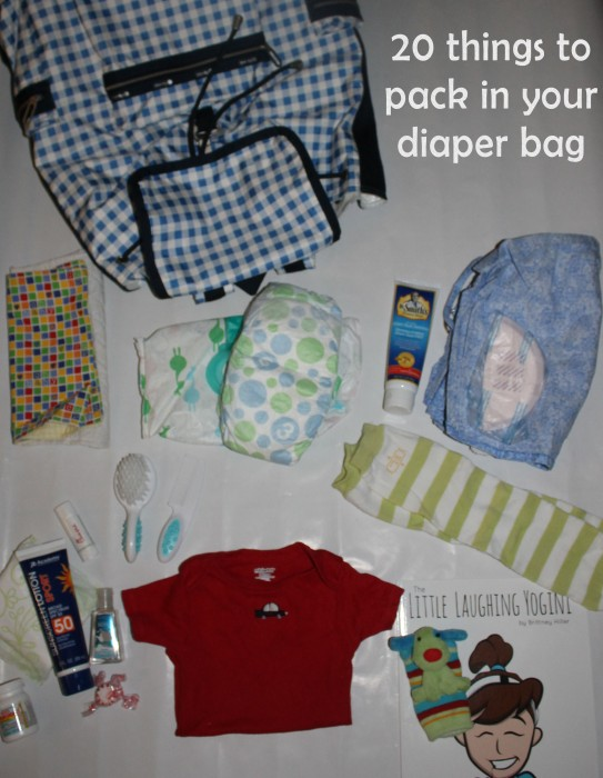 things to pack in your diaper bag