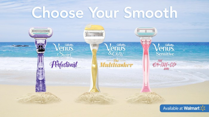 #ChooseYourSmooth Venus razor