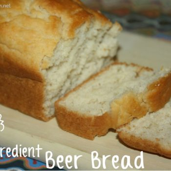 Easy 5 Ingredient Beer Bread Recipe