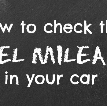 How To Check The Fuel Mileage In Your Car