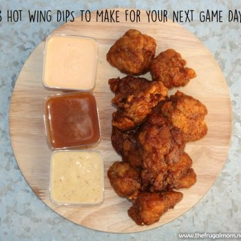#ad 3 Hot Wing Dips To Make For Your Next Game Day #GameTimeHero