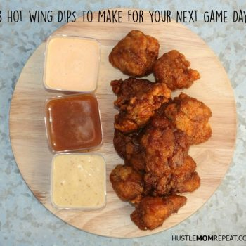 3 Hot Wing Dips To Make For Your Next Game Day