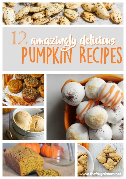 amazing pumpkin recipes