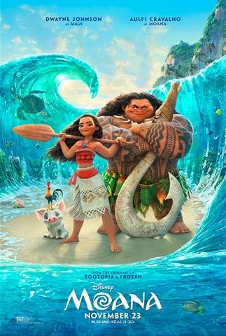 Trailer For Disney's Moana