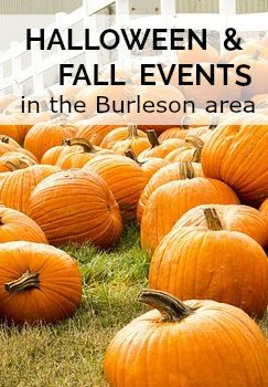 Halloween and Fall Events in Burleson, TX