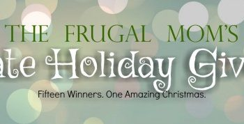 Win One Of 15 Gifts In The Frugal Mom's Ultimate Holiday #Giveaway