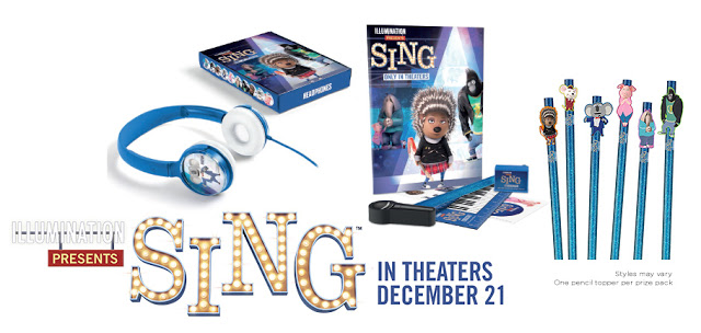 Sing Movie Giveaway