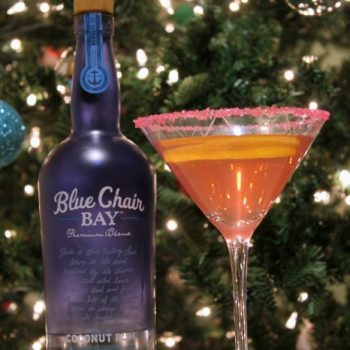Spark Up the Holiday Party With Cranberry Rum Punch @BlueChairBay