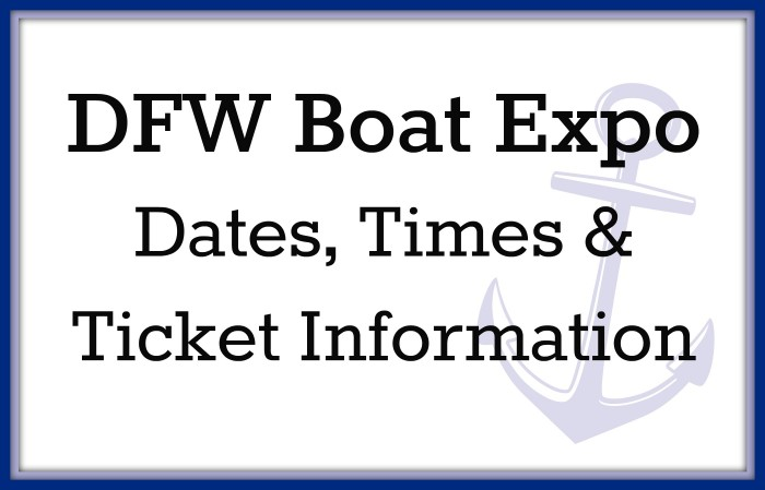 dfw boat expo