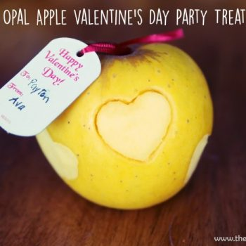 Opal Apples Make A Great Valentine's Day Party Treat @OpalApples