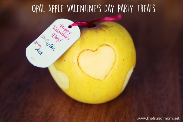 Opal Apple valentine's day party snack