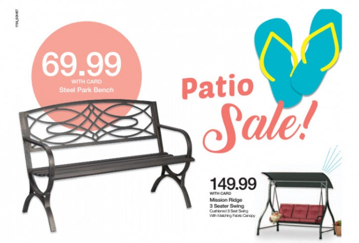 Enjoy Your Summer With Kroger Patio Furniture Ad Hustle