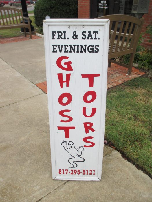 burleson texas ghost tours
