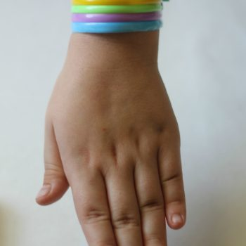Easy St. Patrick's Day Rainbow Bracelets