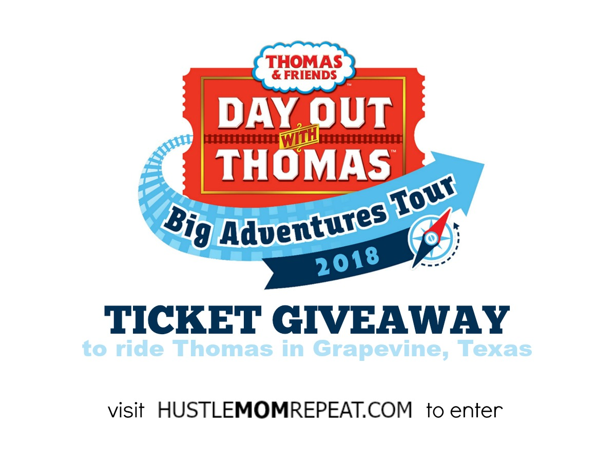 All Aboard For A Ride On Thomas The Train In Grapevine