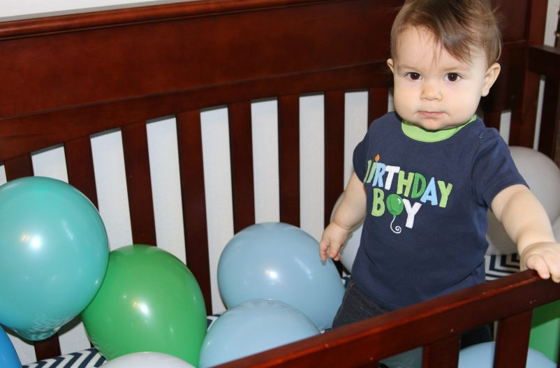 baby crib birthday