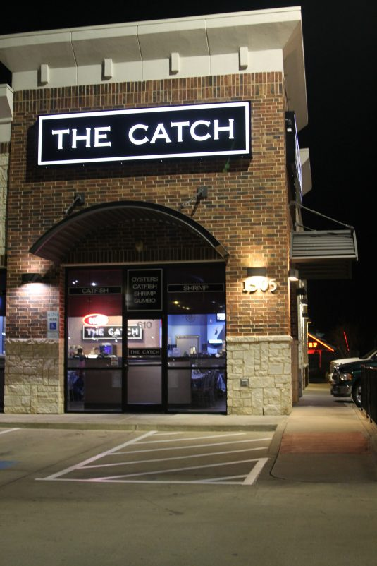 the catch seafood