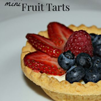 Refresh Your Summer With Mini Fruit Tarts