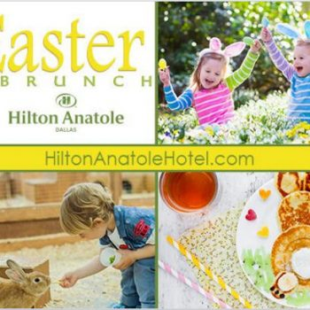 Hilton Anatole Dallas Easter Brunch (+ Giveaway)