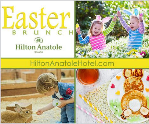 hilton anatole easter brunch buffet