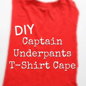 Super Easy DIY Superhero T-Shirt Cape #DrinkTampico #ad