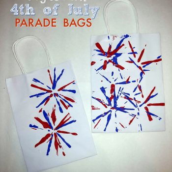 DIY 4th Of July Parade Bags