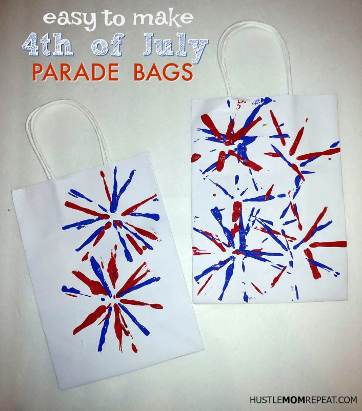4th of july bags