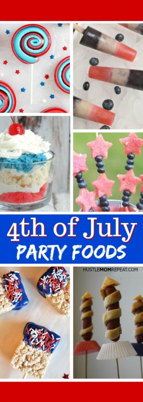 4th of july party foods