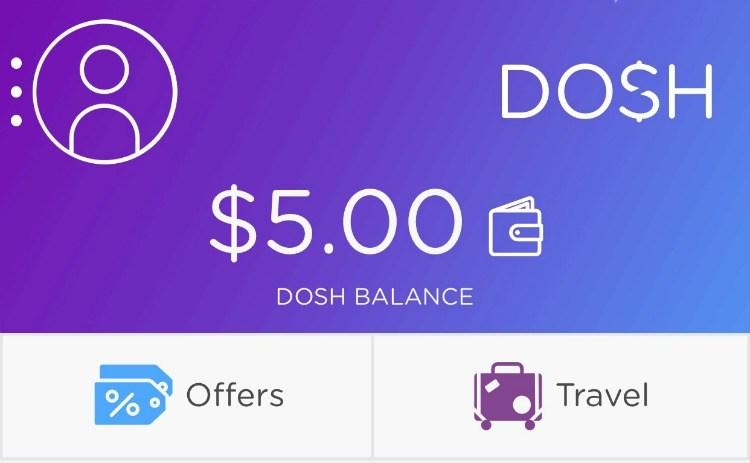 Dosh Cash Back