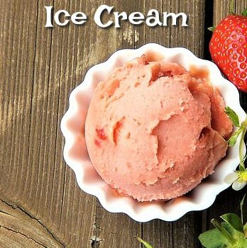 Summer Strawberry Ice Cream Recipe