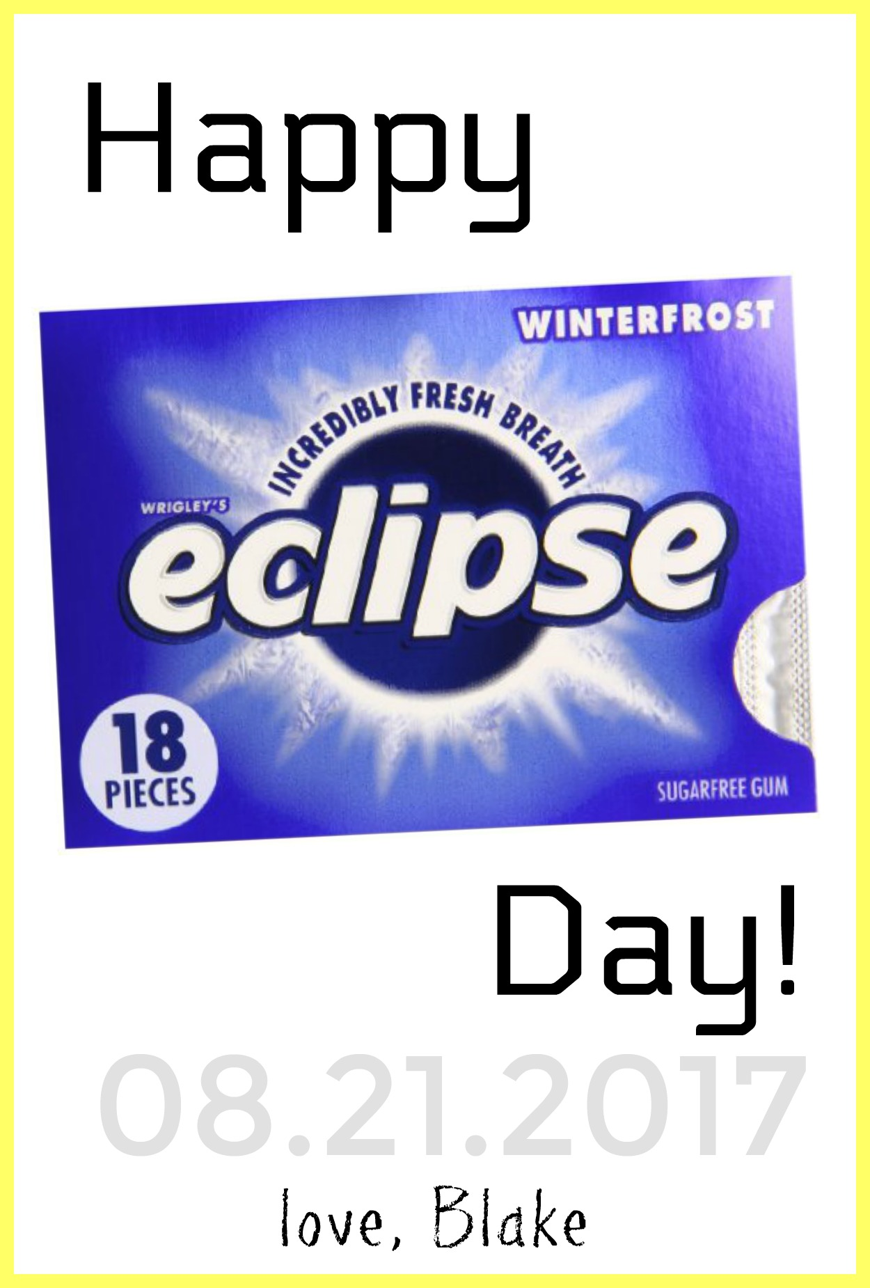 graphic relating to Printable Solar Eclipse Glasses known as Printable Eclipse Working day Reward For Lecturers - Hustle Mother Repeat