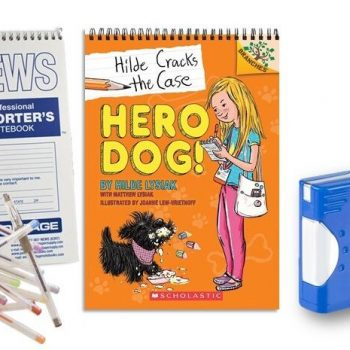 Win A Digital Camera & NEW Book Hilde Cracks the Case: Hero Dog! #ScholasticBranches AD #Giveaway