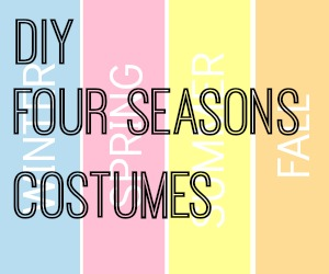 DIY 4 Seasons Costumes