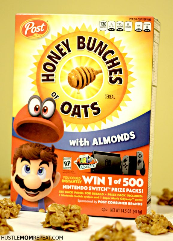 honey bunches of oat clusters