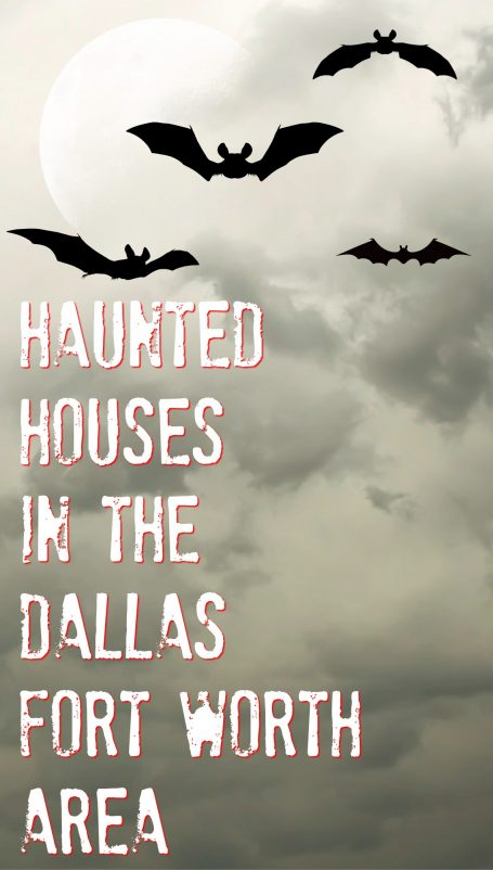 haunted houses in the dallas area