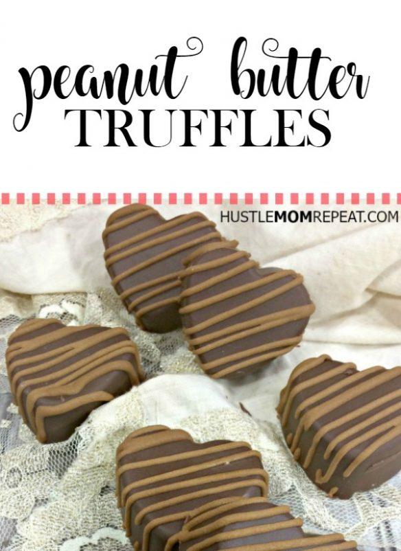 peanut butter truffles pinterest