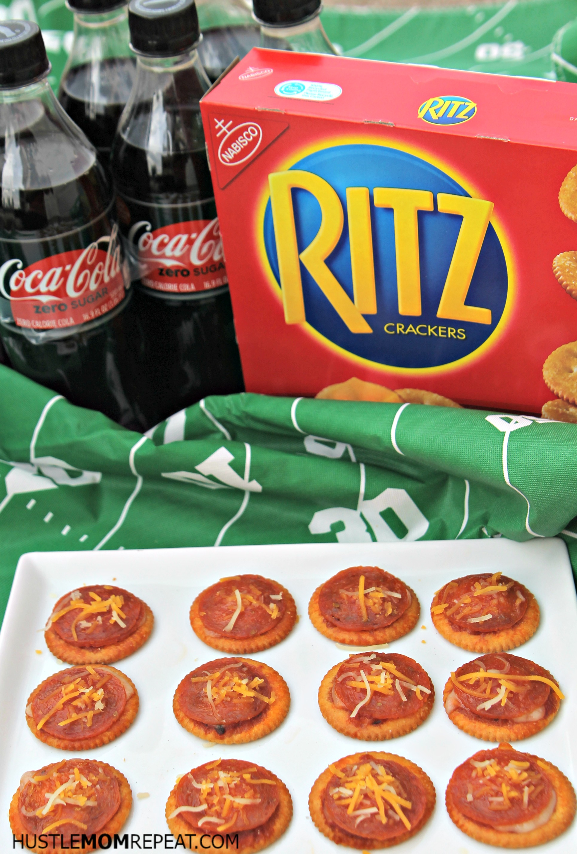 Make Ritz Cracker Pizzas For The Big Game This Weekend