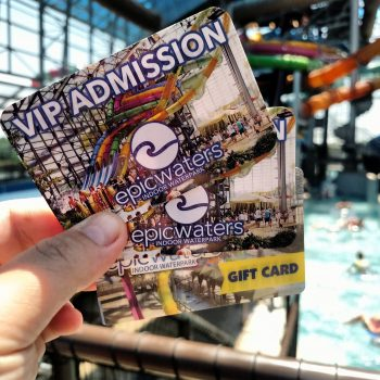 Epic Waters Indoor Waterpark +Giveaway | #EpicWatersGP