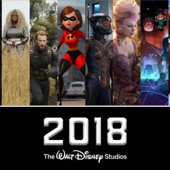 Complete List Of 2018 Disney Movies