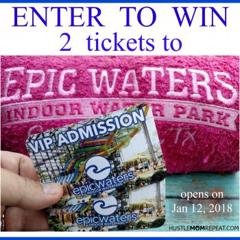 Epic Waters Indoor Waterpark Opens This Month (+Ticket Giveaway) #EpicWatersGP