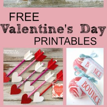 Easy! 10 Free Printables For Valentine's Day