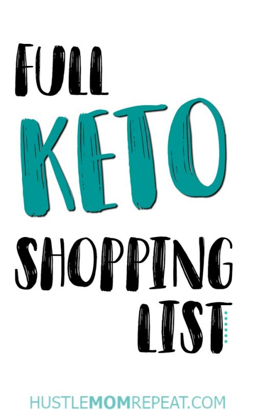 keto list pin