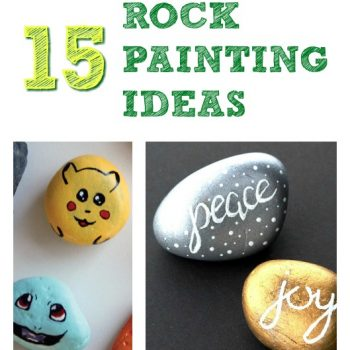 15 Rock Painting Ideas