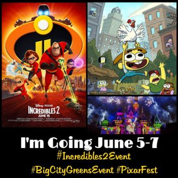 I'm Going To Los Angeles For The #Incredibles2Event